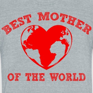 mothertshirt - Unisex Tri-Blend T-Shirt by American Apparel