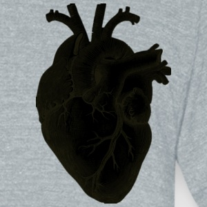 heart of humanity - Unisex Tri-Blend T-Shirt by American Apparel