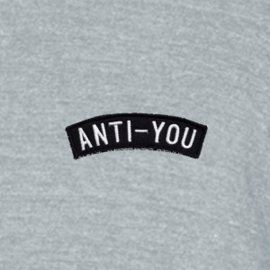 Anti-you - Unisex Tri-Blend T-Shirt by American Apparel