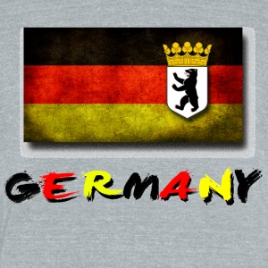 Germany - Unisex Tri-Blend T-Shirt by American Apparel