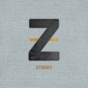 Zeyus Street - Unisex Tri-Blend T-Shirt by American Apparel