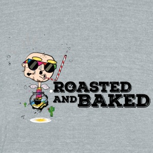 Blind Hippie a la ROASTED AND BAKED - Unisex Tri-Blend T-Shirt by American Apparel