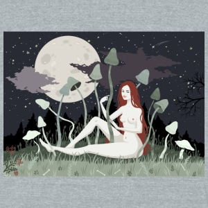 Magical Field - Unisex Tri-Blend T-Shirt by American Apparel