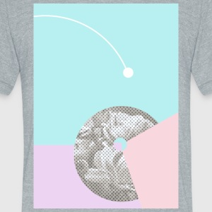 Retro Graphic Art - Unisex Tri-Blend T-Shirt by American Apparel