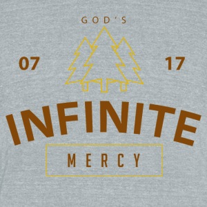 Infinite Mercy - Unisex Tri-Blend T-Shirt by American Apparel