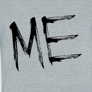 ME - Unisex Tri-Blend T-Shirt by American Apparel