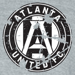 ATLUFC DISTRESSED - Unisex Tri-Blend T-Shirt by American Apparel