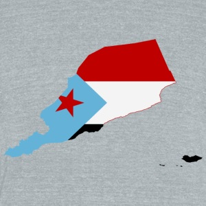 South Yemen Clothing/Supplies - Unisex Tri-Blend T-Shirt by American Apparel
