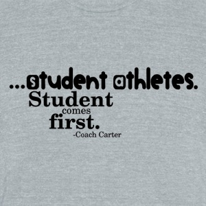 student - Unisex Tri-Blend T-Shirt by American Apparel