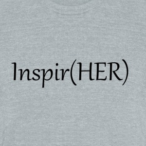 Inspire Her - Unisex Tri-Blend T-Shirt by American Apparel