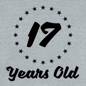 17 Years Old - Unisex Tri-Blend T-Shirt by American Apparel