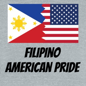Filipino American Pride - Unisex Tri-Blend T-Shirt by American Apparel
