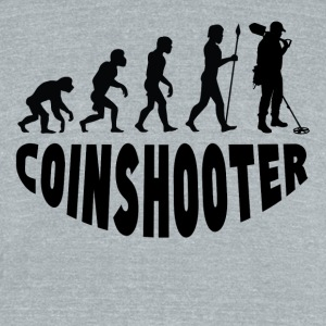 Coinshooter Evolution - Unisex Tri-Blend T-Shirt by American Apparel