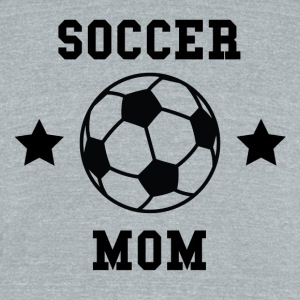 Soccer Mom - Unisex Tri-Blend T-Shirt by American Apparel