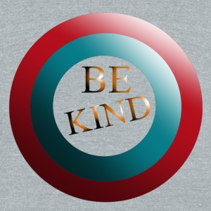 Be Kind - Unisex Tri-Blend T-Shirt by American Apparel