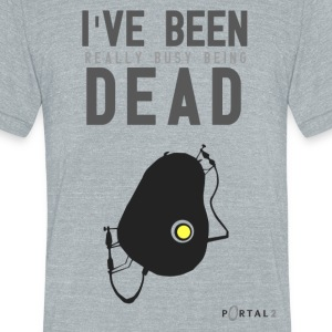 PoGlados - Unisex Tri-Blend T-Shirt by American Apparel