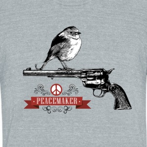 Peacemaker - Unisex Tri-Blend T-Shirt by American Apparel