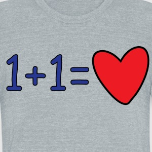 Love Equation - Unisex Tri-Blend T-Shirt by American Apparel