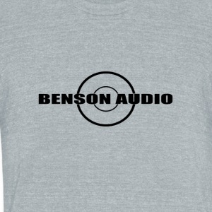 Benson Audio - Unisex Tri-Blend T-Shirt by American Apparel