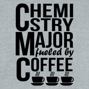 Chemistry Major Fueled By Coffee - Unisex Tri-Blend T-Shirt by American Apparel