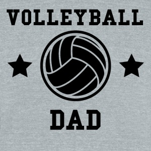 Volleyball Dad - Unisex Tri-Blend T-Shirt by American Apparel
