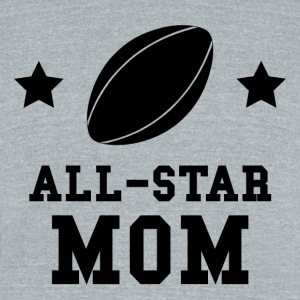 All Star Rugby Mom - Unisex Tri-Blend T-Shirt by American Apparel