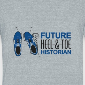Future hell & toe historian - Unisex Tri-Blend T-Shirt by American Apparel