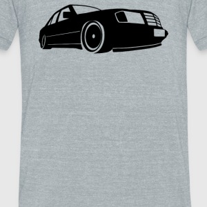 Mercedes Benz W124 E Klasse - Unisex Tri-Blend T-Shirt by American Apparel