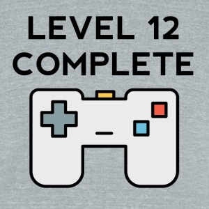 Level 12 Complete 12th Birthday - Unisex Tri-Blend T-Shirt by American Apparel