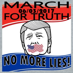 March For Truth - 6-3-2017- No More Lies - Unisex Tri-Blend T-Shirt by American Apparel