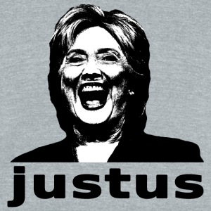 Hillary Justice (Just Us) - Unisex Tri-Blend T-Shirt by American Apparel