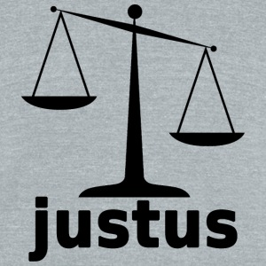 Scales of Justus - Unisex Tri-Blend T-Shirt by American Apparel