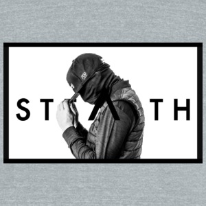 Stealth - Unisex Tri-Blend T-Shirt by American Apparel