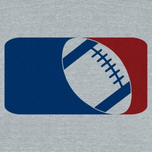 American Football - Unisex Tri-Blend T-Shirt by American Apparel