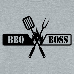 BBQ BOSS - Unisex Tri-Blend T-Shirt by American Apparel