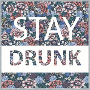 stay drunk - Unisex Tri-Blend T-Shirt by American Apparel