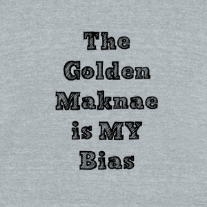 GoldenMaknae - Unisex Tri-Blend T-Shirt by American Apparel