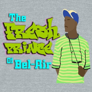 The Fresh Prince of Bel Air - Unisex Tri-Blend T-Shirt by American Apparel
