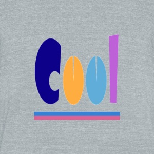 cool - Unisex Tri-Blend T-Shirt by American Apparel