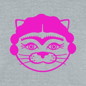 Kitty Frida - Unisex Tri-Blend T-Shirt by American Apparel