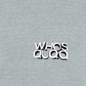 quqq 3d - Unisex Tri-Blend T-Shirt by American Apparel