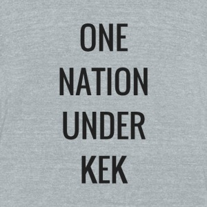 One Nation Under KEK - Unisex Tri-Blend T-Shirt by American Apparel