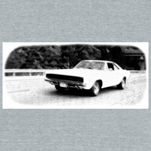1968 Dodge Charger - Unisex Tri-Blend T-Shirt by American Apparel