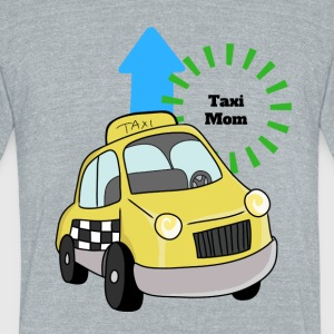 Taxi Mom - Unisex Tri-Blend T-Shirt by American Apparel