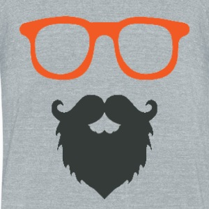 Beard Game - Unisex Tri-Blend T-Shirt by American Apparel