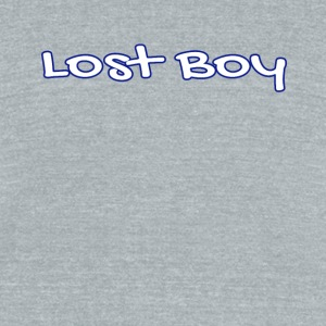 Lost Boy - Unisex Tri-Blend T-Shirt by American Apparel