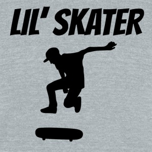 Lil' Skater - Unisex Tri-Blend T-Shirt by American Apparel