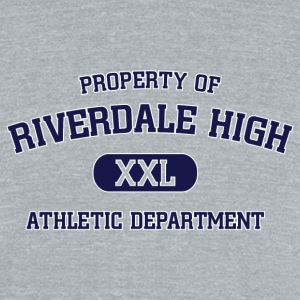 Riverdale - Property Of Riverdale High - Unisex Tri-Blend T-Shirt by American Apparel