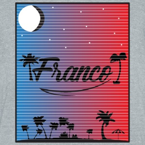Franco Sunset Lines - Unisex Tri-Blend T-Shirt by American Apparel