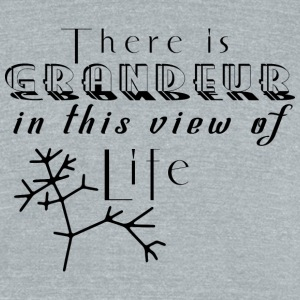 There is grandeur in this view of life - Unisex Tri-Blend T-Shirt by American Apparel